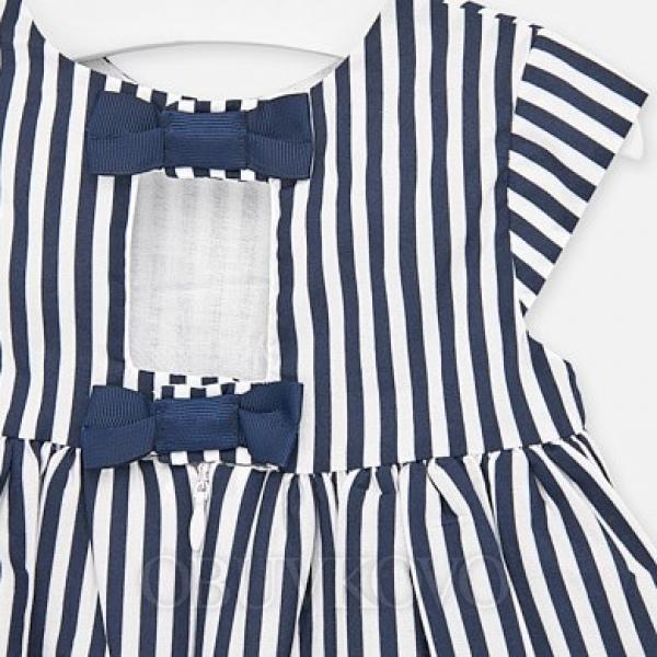 MAYORAL dievčenské vzorované šaty 1920-097