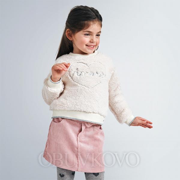 MAYORAL menžestrová sukňa 4959-010 blush