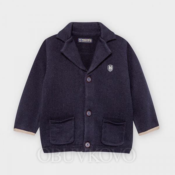 MAYORAL pletené sako kabátik 2476-022 navy