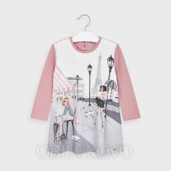 MAYORAL dievčenská tunika 4987-017 blush