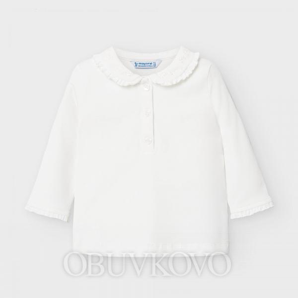 MAYORAL dievčenské tričko 104-084 natur
