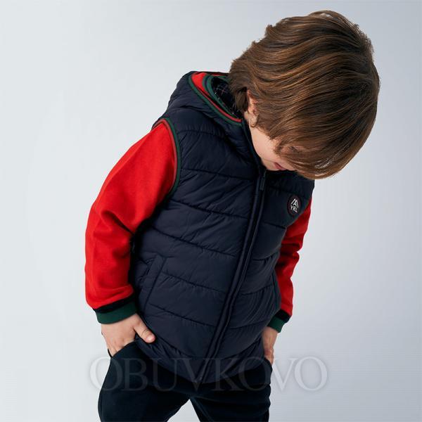 Chlapčenská vesta obojstranná MAYORAL 4336-078