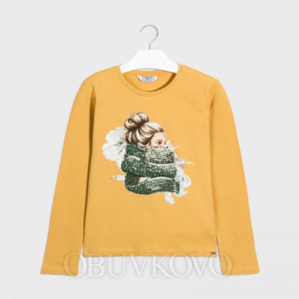 MAYORAL dlhorukávové tričko s bábikou 7070-081