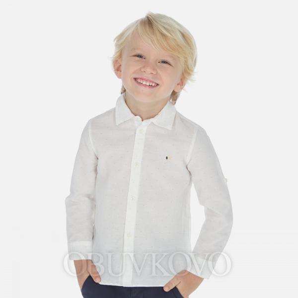 MAYORAL chlapčenská košeľa 141-022 printed