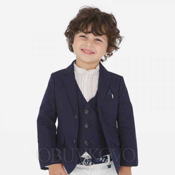MAYORAL chlapčenské sako kabátik 3443-070