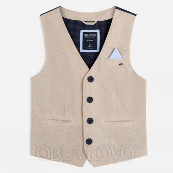 MAYORAL chlapčenská elegantná vesta 6452-070
