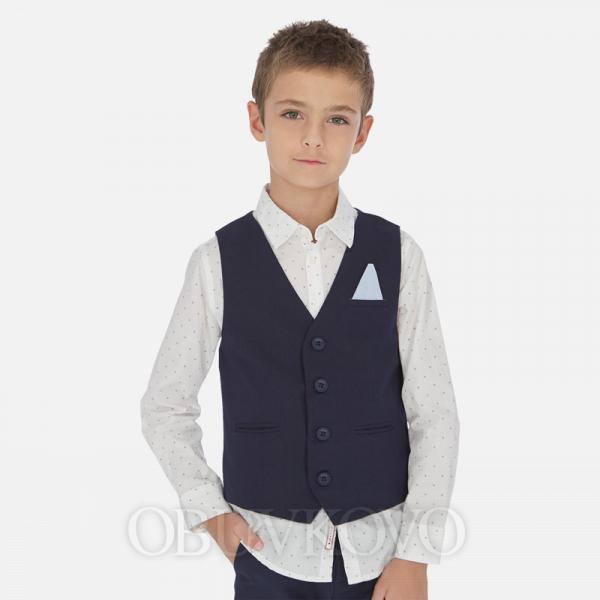 MAYORAL chlapčenská elegantná vesta 6452-069