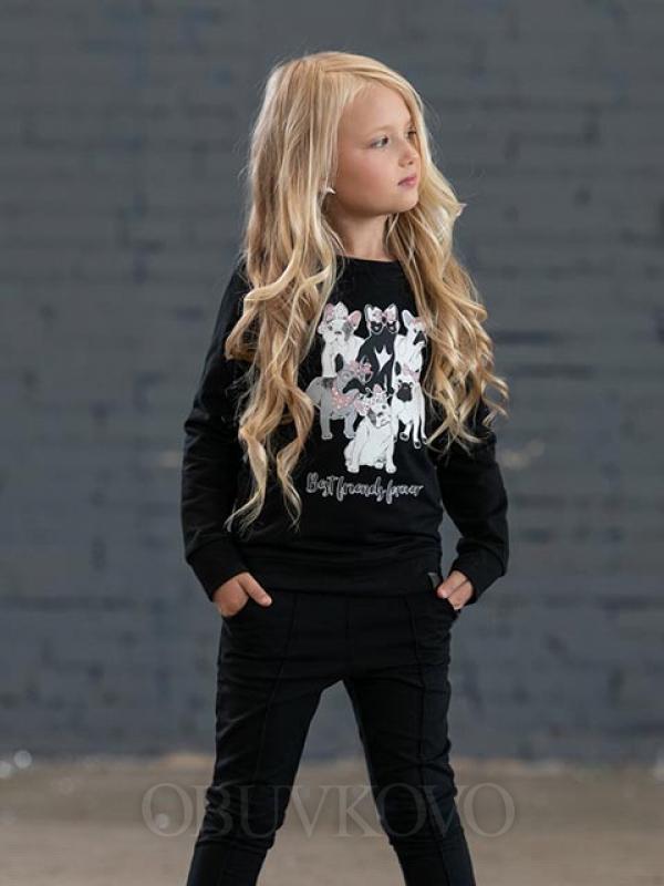 Dievčenská mikina s potlačou
