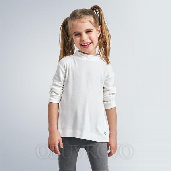 MAYORAL dievčenský bavlnený rolák 136-086 natural
