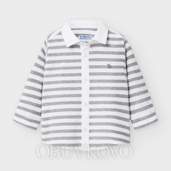 MAYORAL chlapčenská košeľa 2134-011 brg cement
