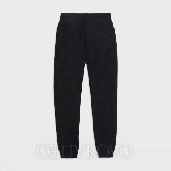 MAYORAL chlapčenské športové nohavice-tepláky 7522-047 deep blue
