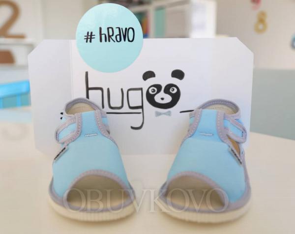 Chlapčenské papuče WANDA HUGO