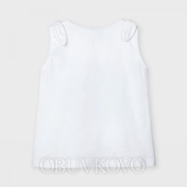 MAYORAL dievčenské tielko 3025-087 white