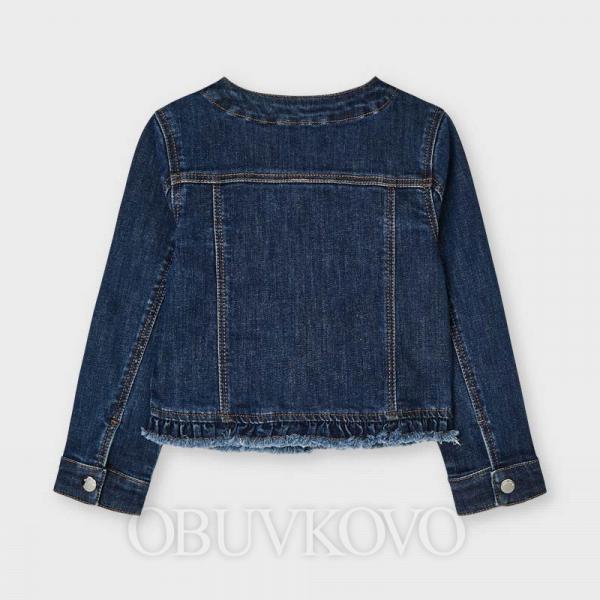 Zdobený rifľový kabát MAYORAL 3478-064
