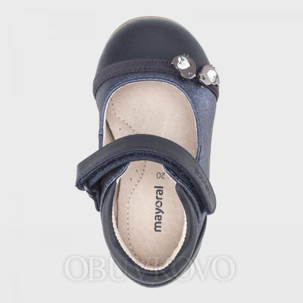Tmavomodré dievčenské balerínky MAYORAL 42124-026 navy
