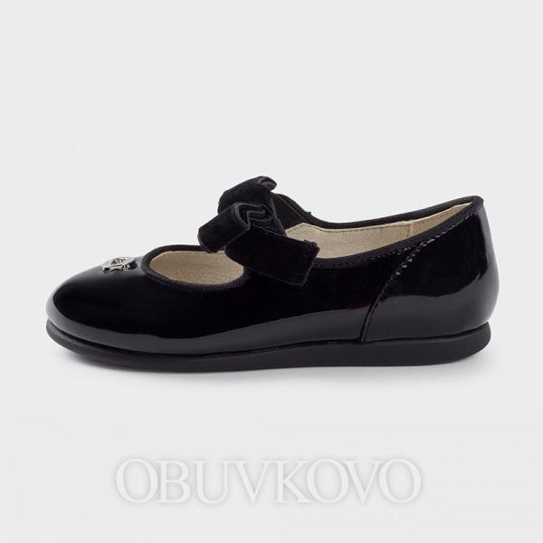 Dievčenské lakovky MAYORAL 42118-013 black