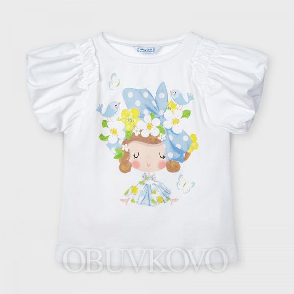 MAYORAL dievčenské tričko s krátkym rukávom 3002-020