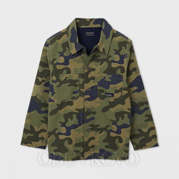 MAYORAL chlapčenské košeľa 6116-015 green