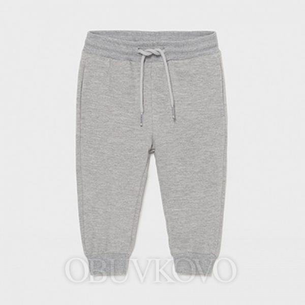 MAYORAL chlapčenské teplákové nohavice 711-075 grey