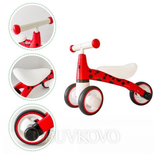 Odrážadlo/ mini bicykel ECOTOYS Lienka