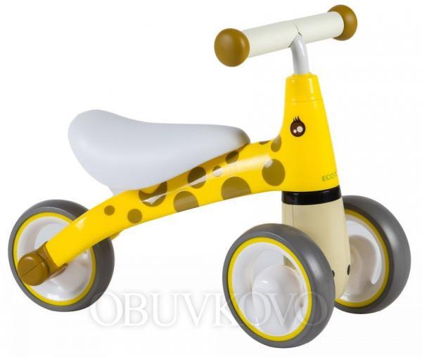 Odrážadlo/ mini bicykel ECOTOYS Žirafa