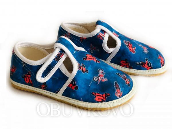 Chlapčenské barefoot papuče JONAP