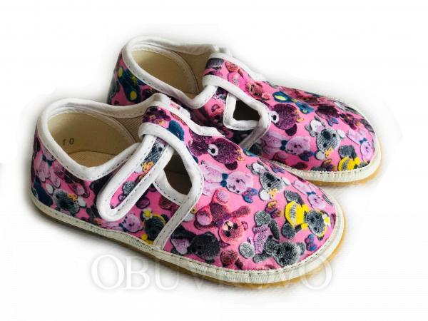 Dievčenské barefoot papuče JONAP