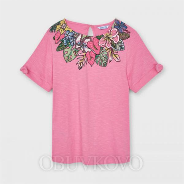 MAYORAL dievčenské tričko s krátkym rukávom 6007-075