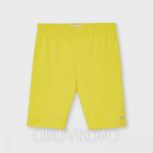 MAYORAL krátke dievčenské legíny 3202-050 yellow