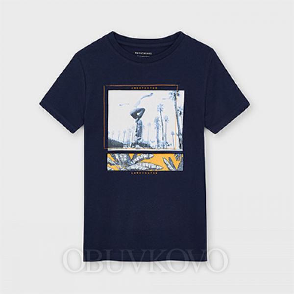 MAYORAL chlapčenské letné tričko 6092-031 ink