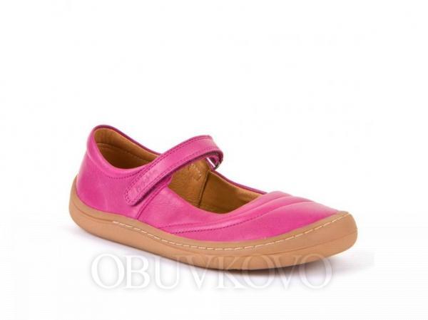Barefoot dievčenské baleríny FRODDO G3140124-3 fuxia