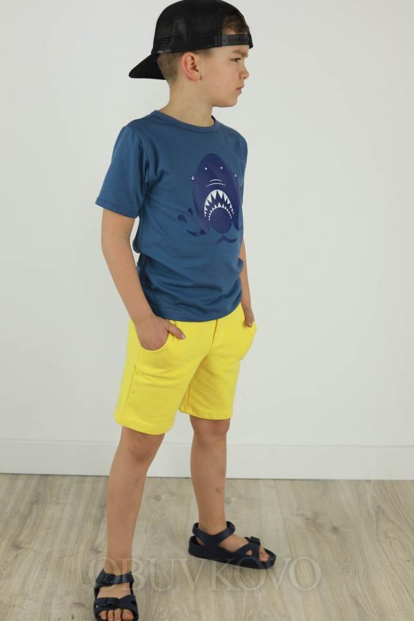 Chlapčenské tričko s krátkym rukávom SHARK