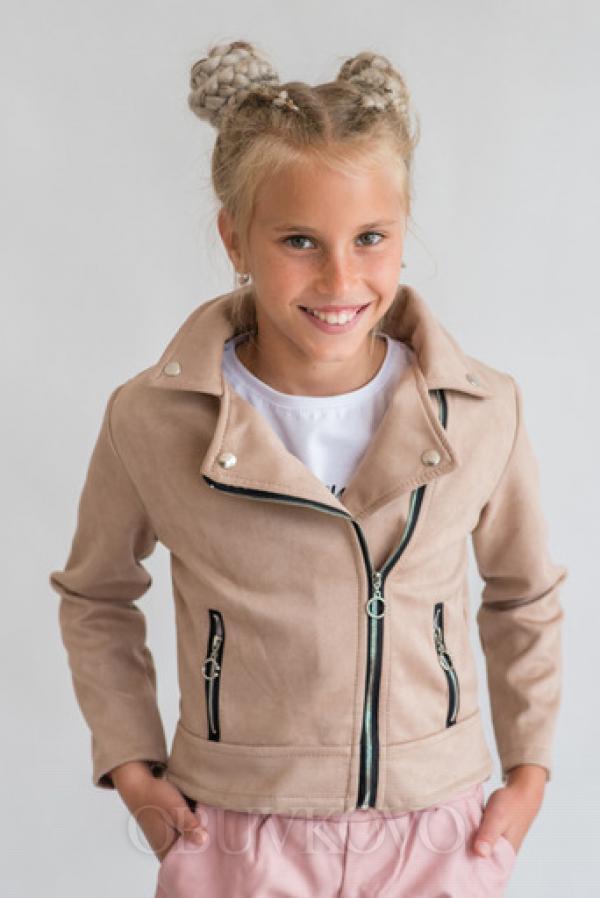 Dievčenská prechodná bunda