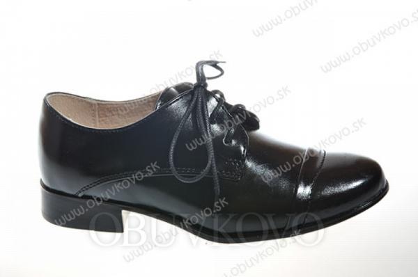 Chlapčenská spoločenská  obuv RENBUT 33-4214
