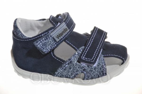Letné sandálky WANDA 979710 modré