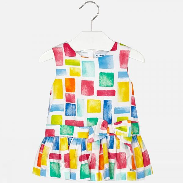 MAYORAL  dievčenské šaty 1940-004 Fuchsia