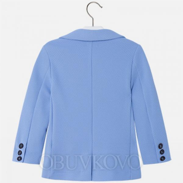 MAYORAL chlapčenské sako 3448-067 Lightblue