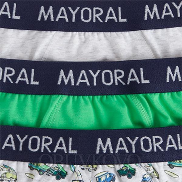 Mayoral spodné prádlo - slipy 3ks  10362-026 grass