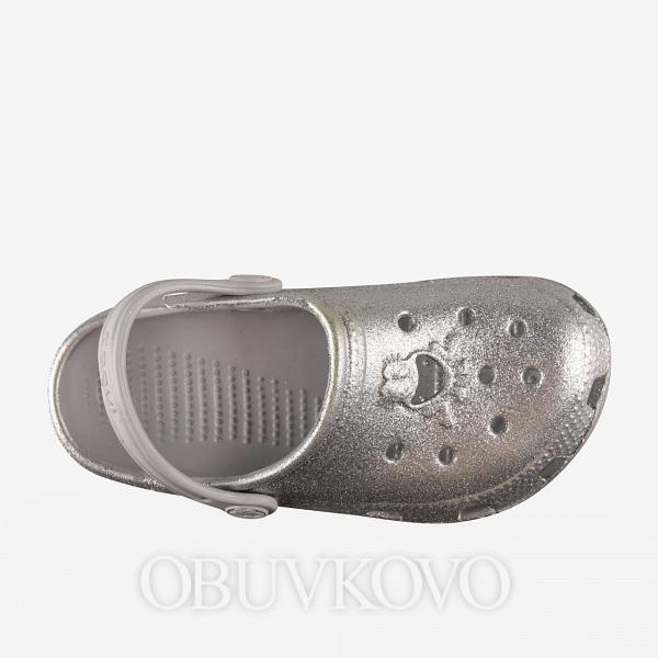 Dievčenské crocsy COQUI BIG FROG 8114 glitter