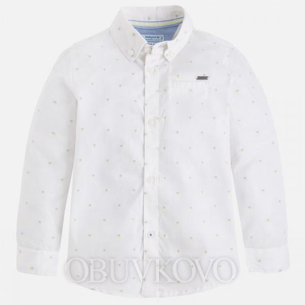 MAYORAL chlapčenská košeľa 3174-066 White